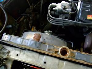 Radiator Auto Ruginit